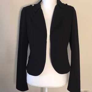 White House Black Market Cropped Blazer